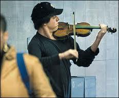 Violinist at Metro