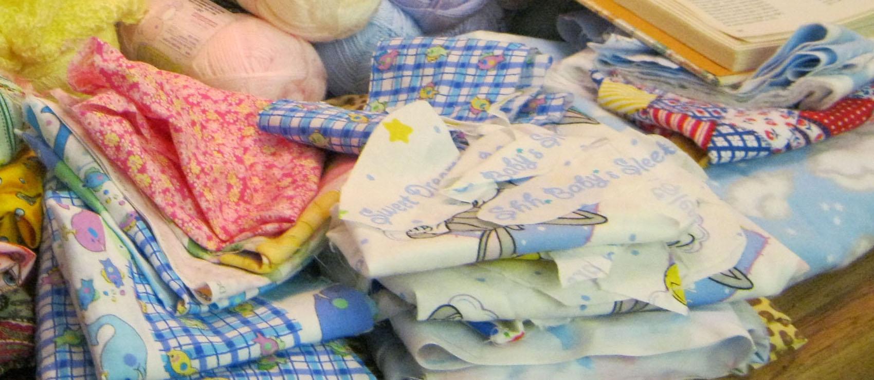 Baby Fabric Scraps