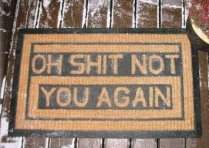 Rude Doormat