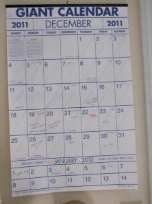 Giant Calendar