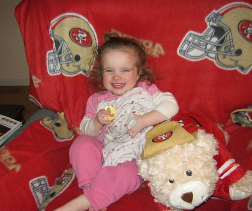 Little 49er Fan