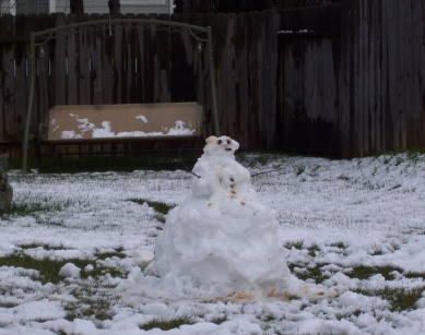 Easter Snowman