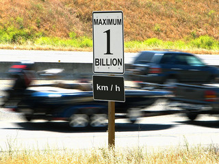 Maximum Speed Sign