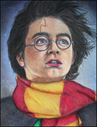 Painting of Harry Potter
