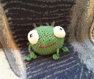 Big Frog On Couch