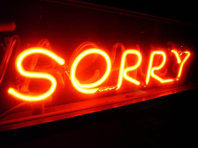 SorrySign