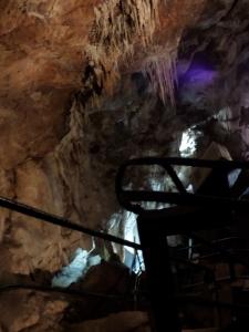 Stalagmites by Stairs
